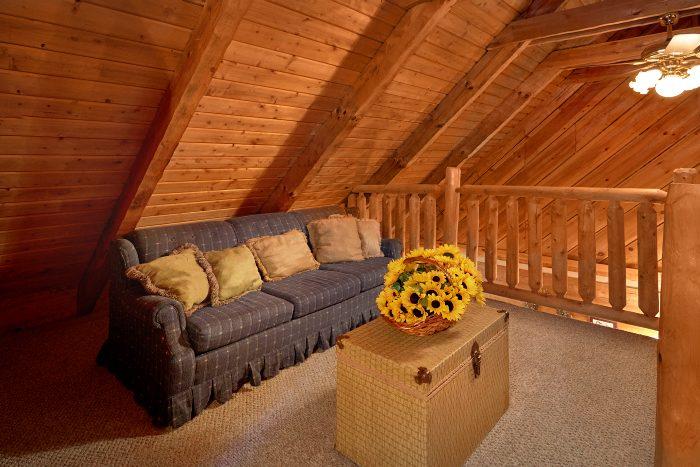1 Bedroom Cabin Sleeps 6 with Loft - Amazing Sunset