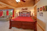 King Bed with extra Sleeper Sofa in Large Cabin