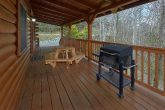 3 Bedroom Cabin Charcoal Gril and Table