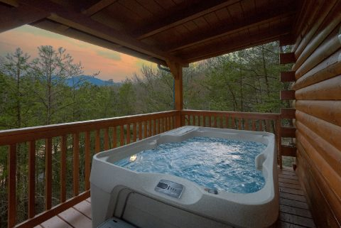 Private Hot Tub 3 Bedroom 3 Bath Cabin - American Honey
