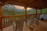 3 Bedroom Cabin with Covered Deck and Rockers