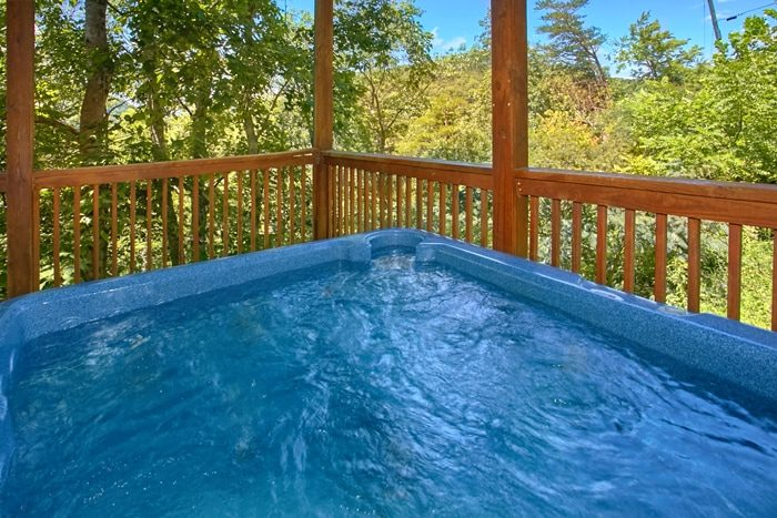 Smoky Mountain Cabin with Hot Tub and View - American Pie 2