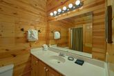 1 bedroom cabin with private master bath