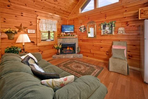 1 Bedroom Cabin with a Living Room Fireplace - Angel Haven