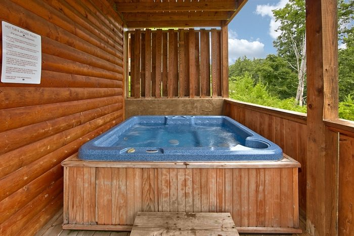 Smoky Mountain Cabin with a Premium Hot Tub - Angel Haven