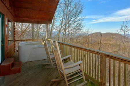 Valley View: 1 Bedroom Sevierville Cabin Rental