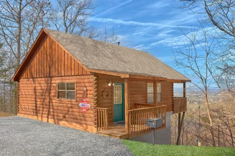 1 Bedroom 1 Bath 1 Story Cabin with Views - Angels Attic