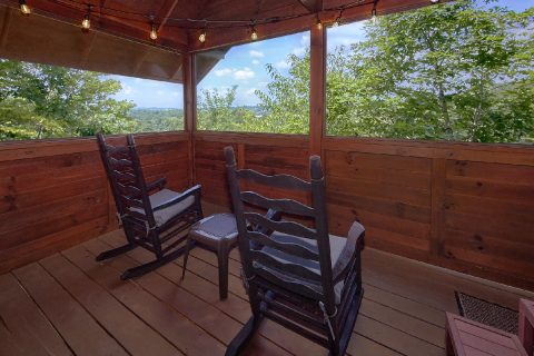 1 bedroom cabin with hot tub and private deck - Angel's Ridge