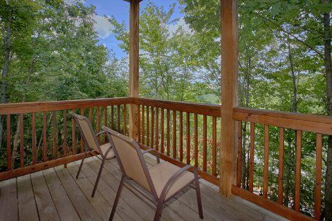 1 bedroom cabin rental with private deck - Angel's Ridge