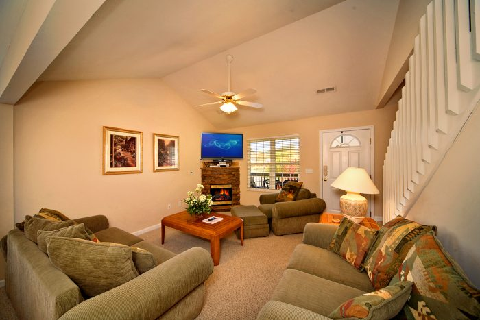 Living Room in Vacation Home - Applewood