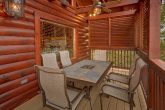 Outdoor Seating 6 Bedroom Cabin Sleeps 14
