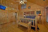 Open Loft Bedroom with Kids Cubby
