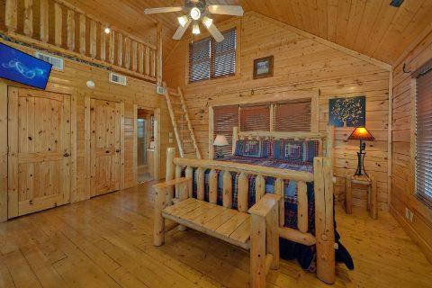 Open Loft Bedroom with Kids Cubby - Aurora