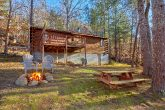 Cabin with Yard and Fire Pit Near Pigeon Forge