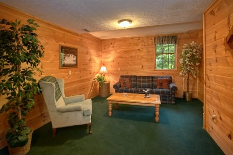 Cabin with Game Room and Sleeper Sofa - B & D Hideaway