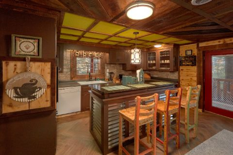 Luxury Cabin with Fully Equipped Kitchen - Bar Mountain