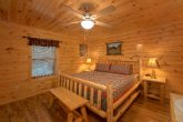 Gatlinburg Cabin with King Bedroom Sleeps 17