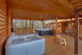 Private Cabin with 2 Hot Tubs