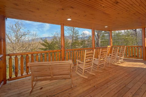 Large Cabin with View and Outdoor Seating - Bar Mountain