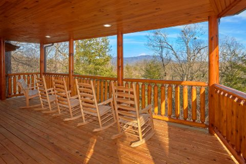 Premium 5 Bedroom Cabin with View - Bar Mountain