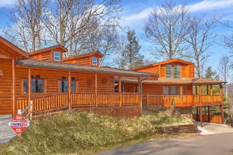 Private 5 Bedroom Cabin Near Gatlinburg - Bar Mountain