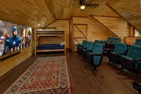 Private 5 Bedroom Cabin with Theater Room - Bar Mountain II