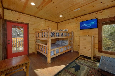 Queen Bunk Room with 4 Queen Beds - Bar Mountain II