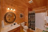 Cabin with 2 King beds and 2 private bathrooms