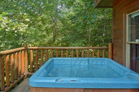 2 Bedroom cabin with Private Hot Tub and View - Bar None