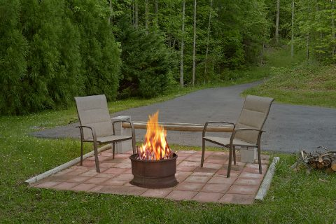 Secluded 1 Bedroom Vacation Home with Fire Pit - Bear Bottoms