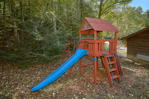 Outdoor Playset with Slide - Bear Cove Escape