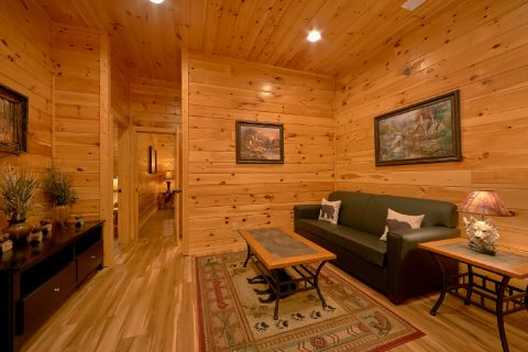 6 Bedroom cabin with sleeper sofa and Theater - Bear Cove Lodge