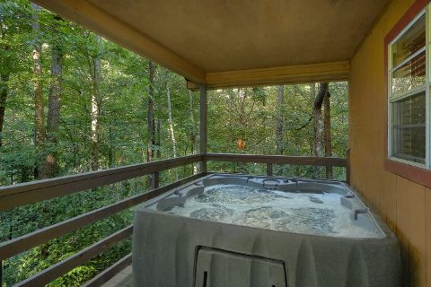 Private Hot Tub Coved Porch - Bear Creek Hollow