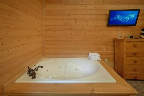 4 Bedroom Cabin with a Jacuzzi in Master Suite - Bear Creek Lodge