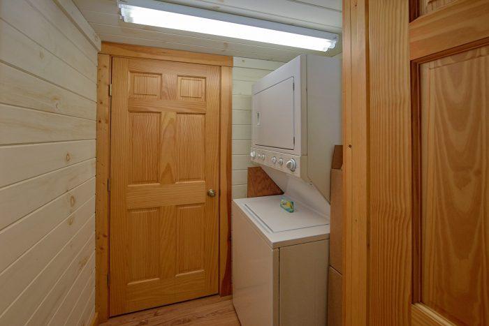 Washer and Dryer Gatlinburg 4 Bedroom Cabin - Bear Crossing