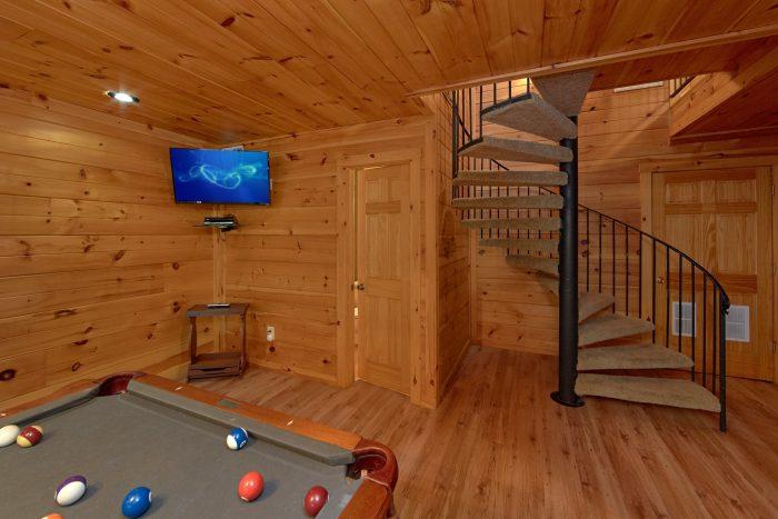 Gatlinburg 4 Bedroom Cabin with Flat Screen TV's - Bear Crossing