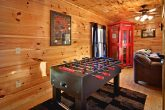 Gatlinburg Cabin with Foosball Table in Game Roo