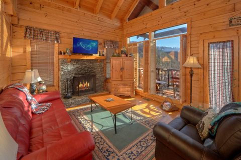 1 Bedroom 2 Bath Cabin Sleeps 5 - Bear Heaven