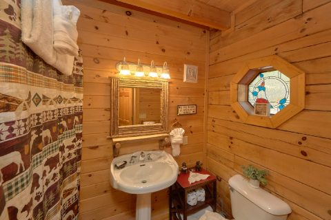2 Full Bath Rooms 1 Bedroom Cabin - Bear Heaven