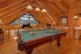 1 Bedroom Cabin with Pool Table