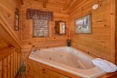 Jacuzzi Tub 1 Bedroom Cabin Sleeps 5