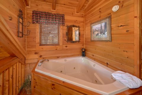 Jacuzzi Tub 1 Bedroom Cabin Sleeps 5 - Bear Heaven