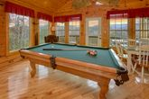 Pool Table 1 Bedroom Cabin Sleeps 4
