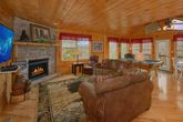 1 Level Cabin with an Open Floor Plan