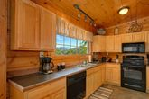 Smoky Mountain Cabin Spacious Kitchen