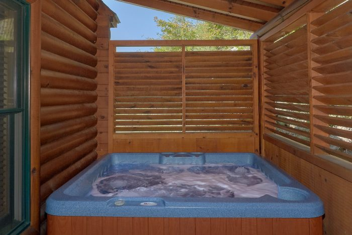 Premium 3 Bedroom cabin with Private Hot Tub - Bear Mountain Lodge