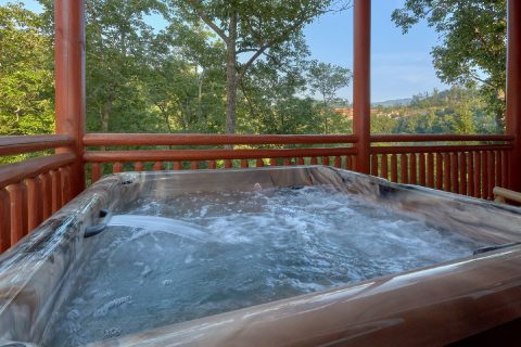 Privater Hot Tub 6 Bedroom Sleeps 20 - Bear Paddle Lodge