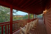Rocking Chairs and Gas Grill on Cover Decks