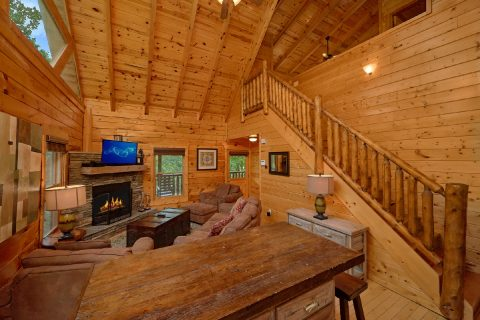 3 Bedroom Cabin in the Smoky Mountains - Bear Pause Cabin