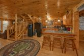2 bedroom Gatlinburg cabin with arcade game
